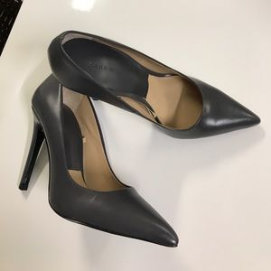 New Zara leather pump sz 35