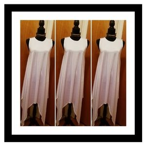 NWOT WHITE MAXI TOP or DRESS