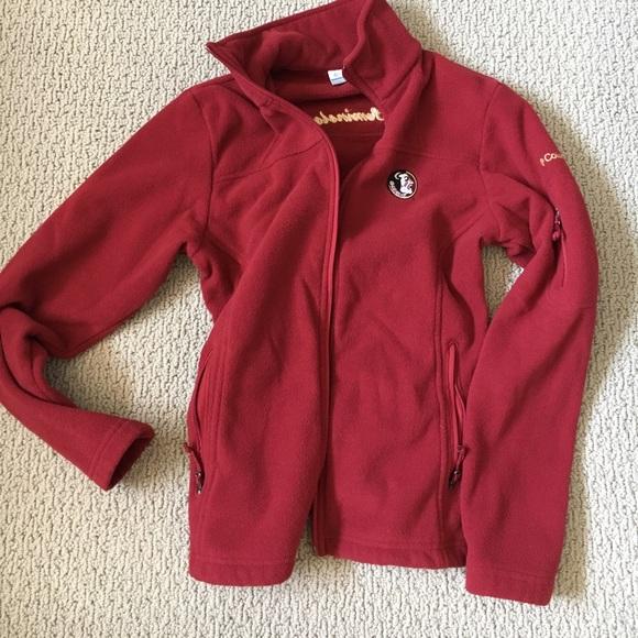 524331e0 Columbia Jackets & Blazers - FSU Florida State Seminoles xs Columbia Fleece