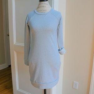 Dresses & Skirts - Sweatshirt tunic dress French Terry Dusty Blue