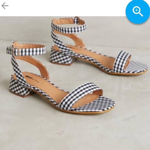 165cfdd50c Anthropologie Shoes | Gingham Lowheel | Poshmark