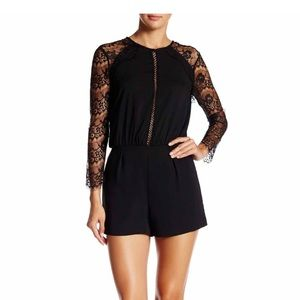 Other - Long sleeve lace romper