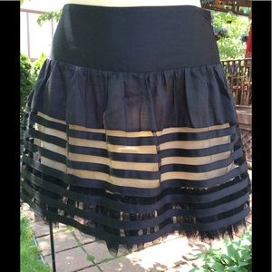 FREE PEOPLE LACE skirt SZ 4
