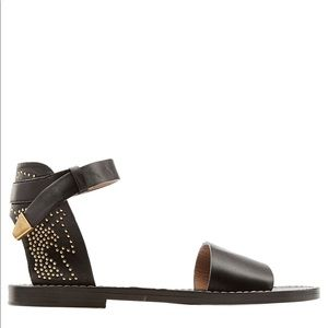 NEW CHLOE Suzanna Studded Sandals MSRP $795.00!