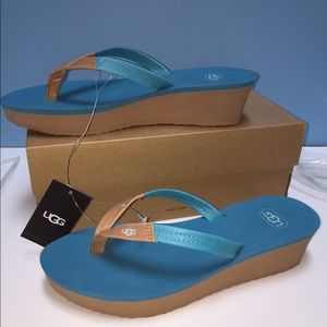 460501a7190 HOTSALE UGG -Ruby Wedge Flip Flop NWT NWT