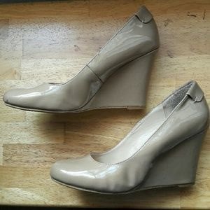 Nine West Patent Leather Wedge Size 11W