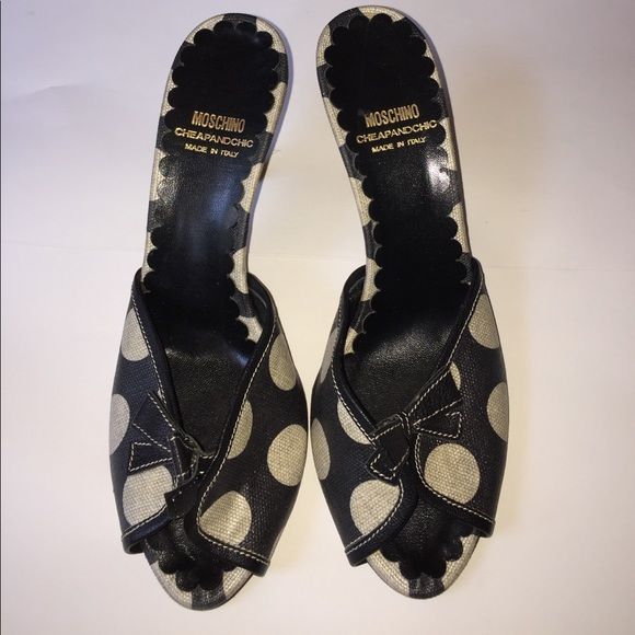 Moschino Cheap And Chic Polka Dot Shoes
