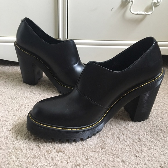 587c6fecd19 Dr. Martens Shoes - Doc Marten Cordelia Aunt Sally chunky heels