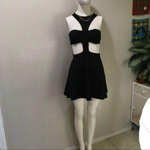 Forever 21 Cut Out Choker Dress