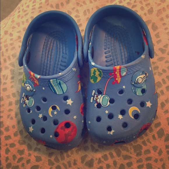 2828339e55841d CROCS Other - Baby boy Crocs size 4 5