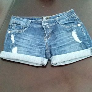 south pole denim shorts