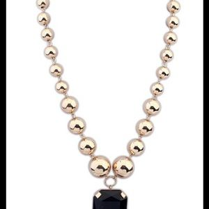 Jewelry - NWT Bling gold necklace