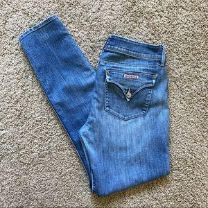 Hudson Collin Flap Skinny Jeans Light Wash