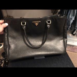 Prada Large Saffiiano Handbag