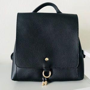 Handbags - Open Flap Mini Backpack