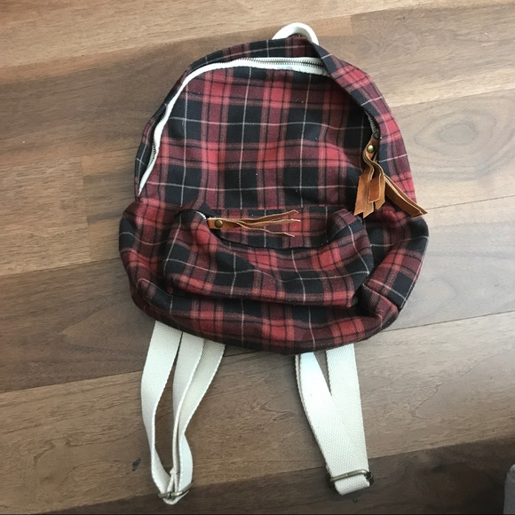 Brandy Melville Handbags - Brandy Melville plaid backpack 09496c04b0cf1