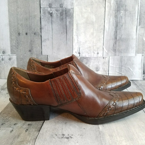 Earth Spirit Men S Leather Shoes