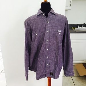 Chambray bape button down