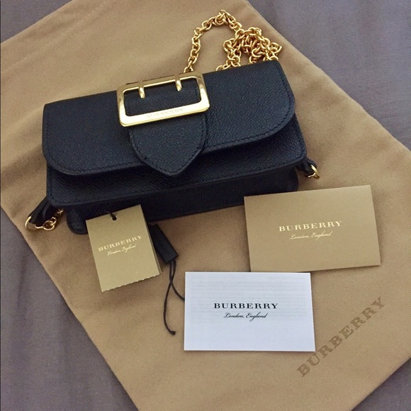 af66210b74 Burberry Handbags - Price drop🎉Burberry Mini Buckle in Grainy Leather