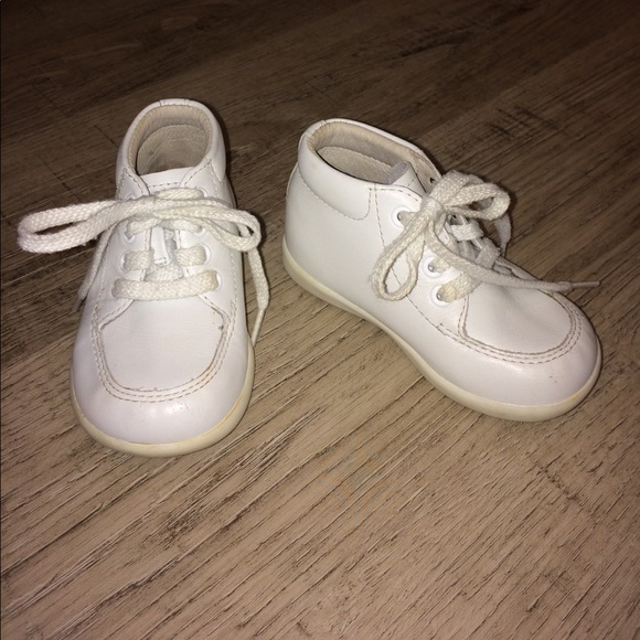 Stride Rite Leather Baby Shoes