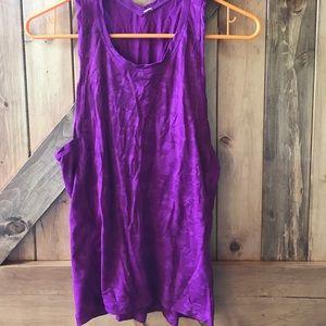 SALE Lululemon purple camo tank