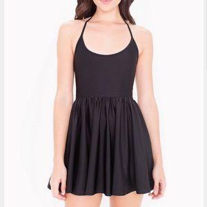 American Apparel Black Ballerina Skater Dress