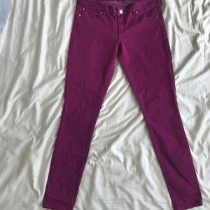 Denim - Express Jean legging size 8