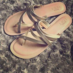 LOFT Shoes - Loft Strappy Slide Sandals
