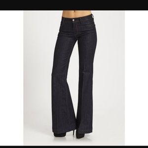 7FAM Ginger Wide leg trouser, high waisted