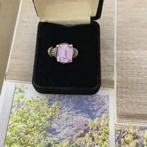 Jewelry - Light amethyst ring in Sterling, 7-1/2