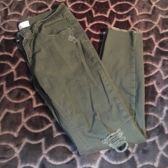 eafbd19d1 Olive Green Ankle RSQ Women's Jeans. M_595d672cbcd4a7cb3801bbcb