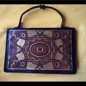 ANTIQUE Art Nouveau Pocketbook
