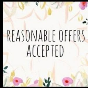 Reasonable offers please read before buying