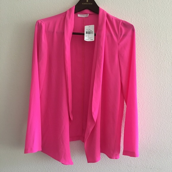 88% off Lush Sweaters - •SALE• LUSH Hot Pink Sheer Cardigan from ...