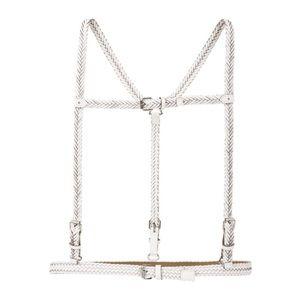 BCBG Max Azria white harness