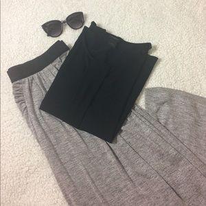 Carmen Marc Valvo Maxi skirt with Slit Large EUC
