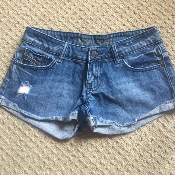 Spare Pants - Spare Jean shorts; size 3