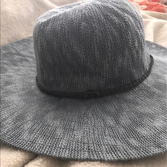 20d087e3559c79 CALIA by Carrie Underwood Accessories | Wide Brim Gray Sun Hat By ...