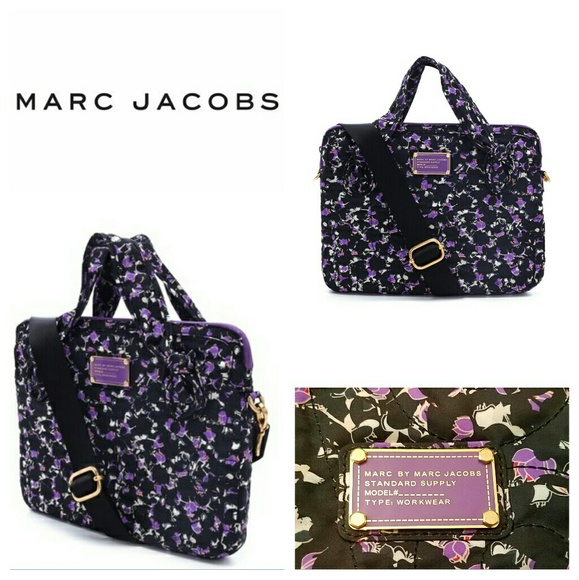47 off marc jacobs handbags new marc jacobs laptop commuter 13 bag from rebecca 39 s closet on. Black Bedroom Furniture Sets. Home Design Ideas