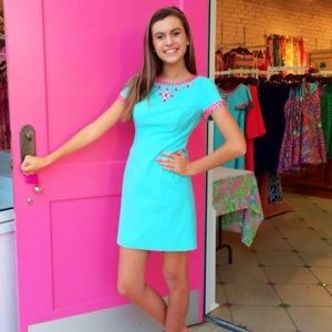 Lilly Pulitzer Turquoise Nora Dress