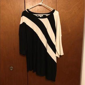 Dress Barn Asymmetrical Tunic