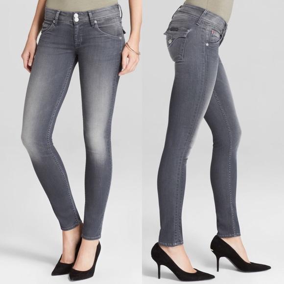 d8413ae7587 Hudson Jeans Jeans | Hudson Skinny Flap Pocket Gray Wash | Poshmark