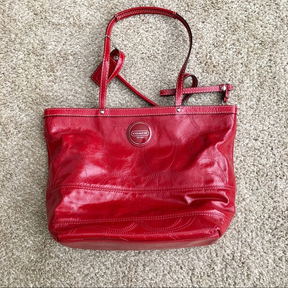 Coach Handbags - Red Coach purse