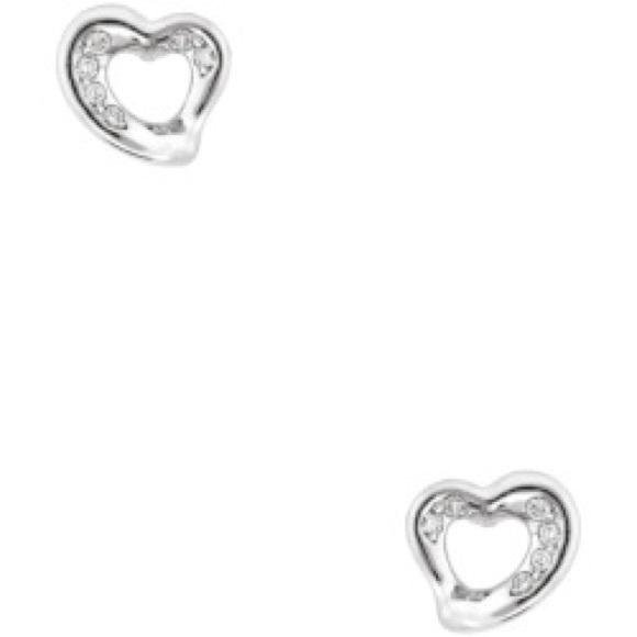 8106dad16 Tiffany & Co. Jewelry   Tiffany Co Open Heart Platinum Diamond ...