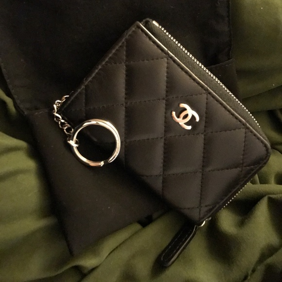 CHANEL Handbags - Authentic Chanel key pouch