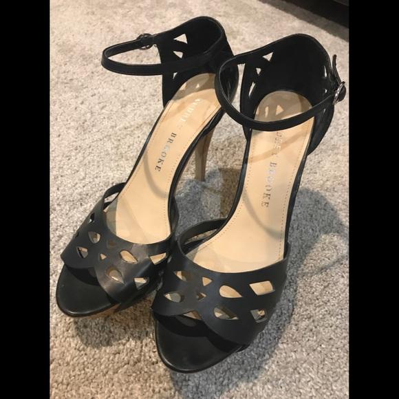 Audrey Brooke Schuhes   Mint Condition schwarz Cork Heels Heels Cork   Poshmark 6520e5