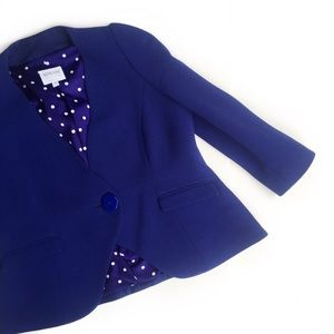 armani collezioni • royal blue blazer