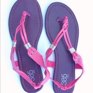 Pink Sandals, Flat Sandals, Slip Ons, Summer Shoes