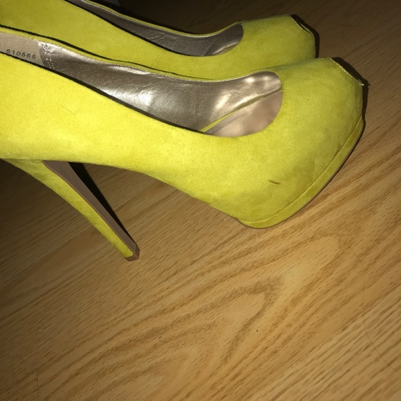 50 off charlotte russe shoes charlotte russe lime green