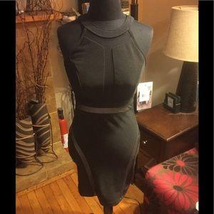Honey and Rose Black bodycon dress